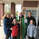 Visit of Bishop Edward J. Burns to sacred Heart Feb. 11, 2018 photo album thumbnail 55