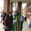 Visit of Bishop Edward J. Burns to sacred Heart Feb. 11, 2018 photo album thumbnail 16