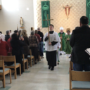 Visit of Bishop Edward J. Burns to sacred Heart Feb. 11, 2018 photo album thumbnail 27