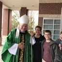 Visit of Bishop Edward J. Burns to sacred Heart Feb. 11, 2018 photo album thumbnail 75